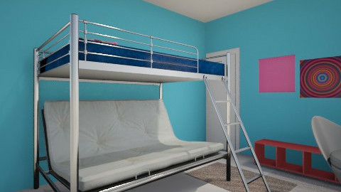 Paris tiny room - Bedroom - by jadyn
