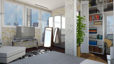 Top Floor Bedroom - Modern - Bedroom  - by cheyjordan