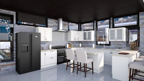 Desert Glass Kitchen - Kitchen  - by Amyz625