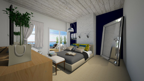 nw brnd - Eclectic - Bedroom  - by peterlo