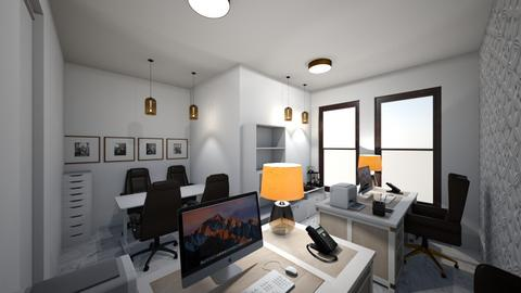 escritorio - Rustic - Office  - by kelly lucena