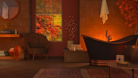 Autumn Bathing - Bathroom  - by LB1981