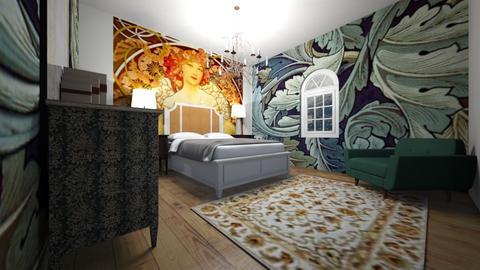 Art room - Bedroom  - by llamaperson