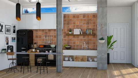 Ecletic Kitchen - by Aymee Estrella