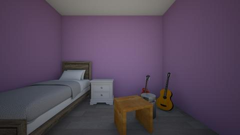 Final Room Design - Bedroom  - by anaiahwilly