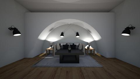 Arch Chill - Living room  - by riordan simpson
