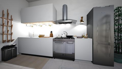 SKT Apartment Kitchen - Minimal - Kitchen  - by lukecepheidv