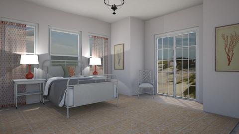 Orange and White - Living room  - by lauren_murphy