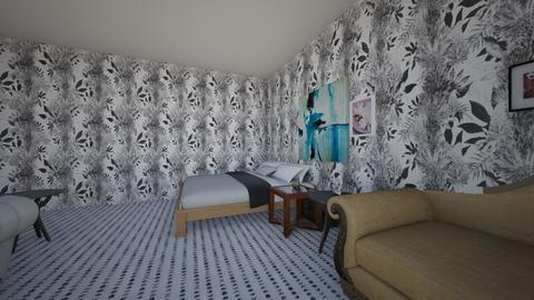 bad kings bedroom - Bedroom  - by tgsrev