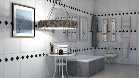 Luxurious Bathroom - Modern - Bathroom  - by kiwimelon711