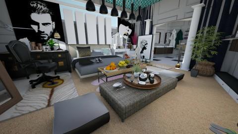 floor bedroom - Vintage - Bedroom  - by Tiany Gullatt