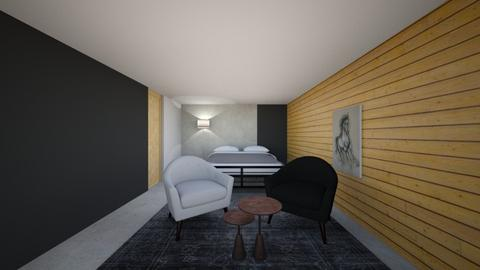 A1 - Modern - Bedroom - by adelinaghita