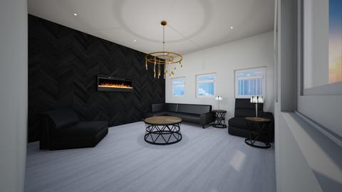 Rustic White n Black - Rustic - Living room  - by JaidenLegg