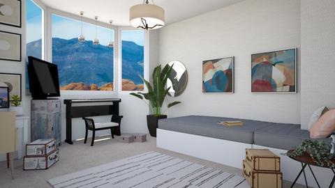 New bedroom - Modern - Bedroom  - by Meghan_and_Pheebs