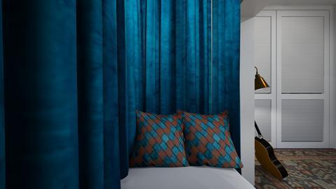 Ravenclaw Teen 3 - Bedroom  - by SammyJPili