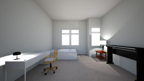 taha room - Classic - Bedroom  - by tahagokdemir
