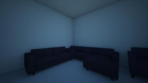 Blue - Living room  - by 192929