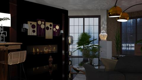 Floor Lamps - Living room  - by Sue Bonstra