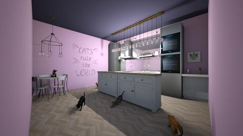 KityKitchen designkitty31 - Kitchen  - by Hamzah luvs cats
