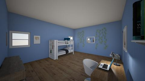 my own room  - Modern - Bedroom  - by aschaper