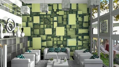 Kyuubuhv - Living room  - by InaJ