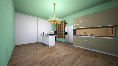 Modern kitchen - Modern - Kitchen - by DakotahLovesCece