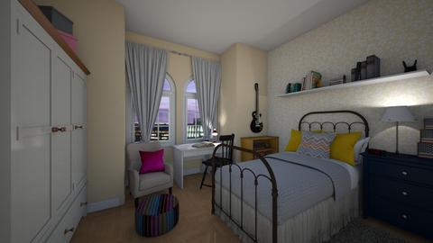 A dream - Bedroom - by Maria_Julia
