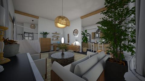 Nature_living room - Living room  - by lovasemoke