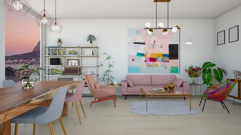 sala - Living room  - by diegobbf