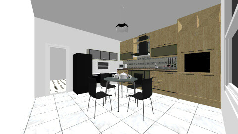 mng - Kitchen - by marius iulian