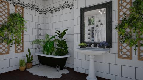 Urban Jungle Bathroom - Modern - Bathroom - by Dragana2212