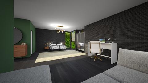 Just an other bedroom  - Bedroom  - by Noa Jones