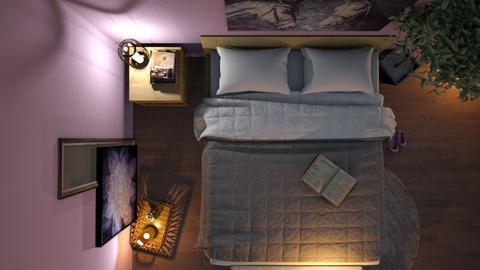 Purple bedroom - Bedroom  - by ItsKalaniOfficial