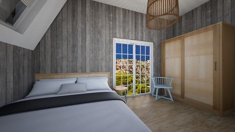 bedroom huis 1 - Vintage - Bedroom  - by Lara Sebti