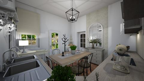 Ebed_bistrostyle - Kitchen  - by lovasemoke