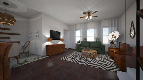 BOW TH Remodel 2 - Living room - by TColl3