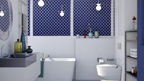 Royal Navy - Modern - Bathroom  - by Gurns
