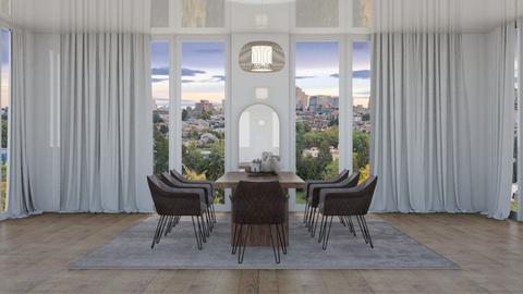 scandinavian dine - Eclectic - Dining room  - by tiredhel