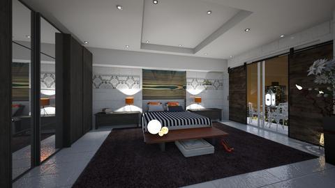 IP Diego - Rustic - Bedroom  - by rosanebpf