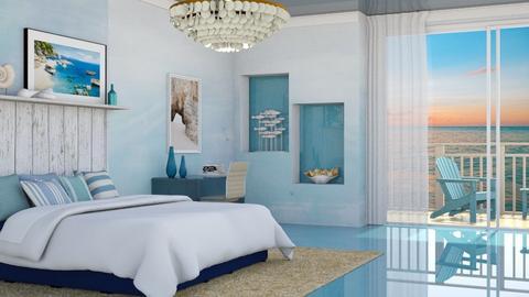 Beach Bedroom - by yonvie