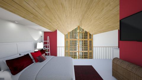 Loft Bedroom 3 - Bedroom  - by SammyJPili