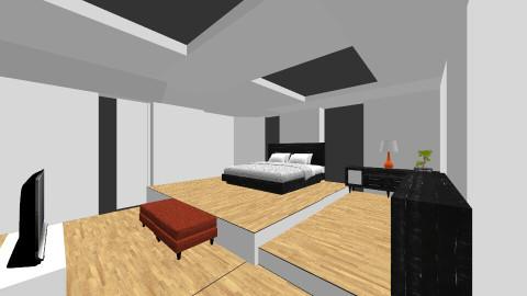 Peace - Bedroom - by Darcy Tooka Dunham