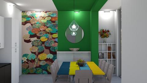 Lily Pond - Kitchen  - by yonvie