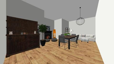 2nd design getting better - Living room  - by Itsavannah