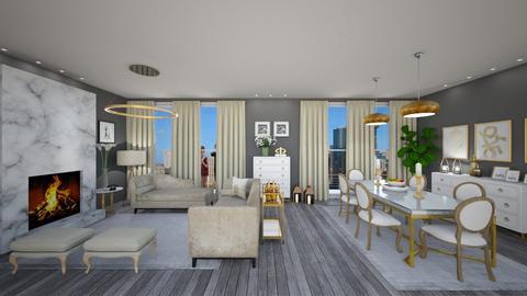 James Bond - Living room  - by susilva