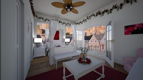 The Rose Room 4 - Bedroom  - by SammyJPili