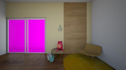 misty sping - Living room  - by lemon boi