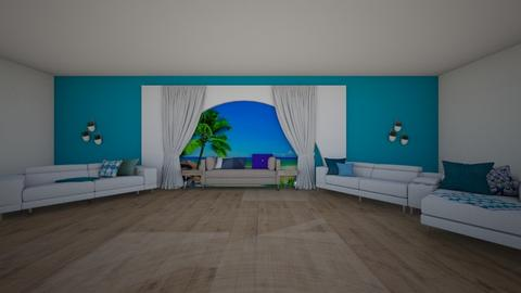 greek style living room - Classic - Living room  - by kage_of_the_anime_village_yumi