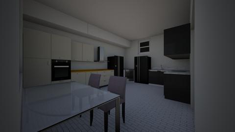 cocina moderna - Modern - Kitchen  - by darekkk