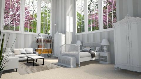 Sleepless in Seattle - Classic - Bedroom  - by DiamondJ569